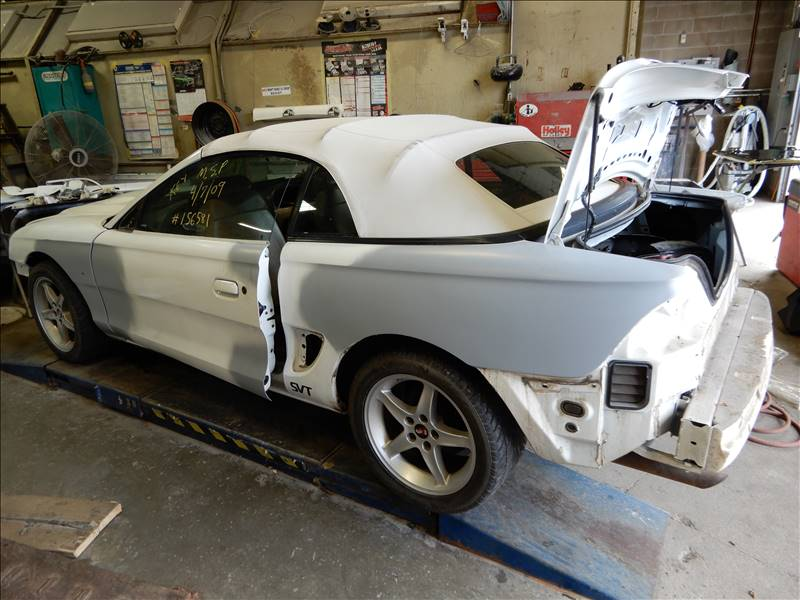 Mustang before